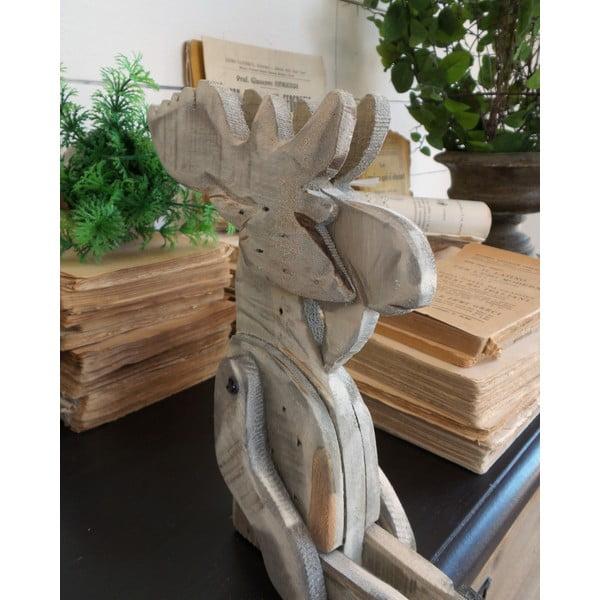 Drevená dekorácia Orchidea Milano Pupper Reindeer