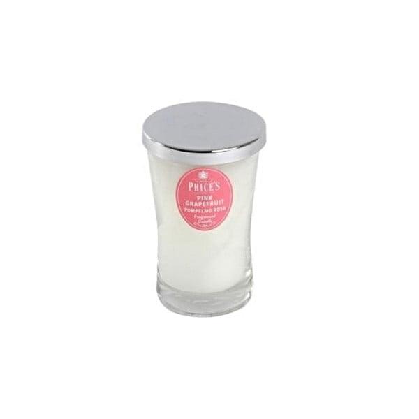 Vonná sviečka Prices Ružový grapefruit, 70 hodín horenia