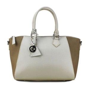 Kožená kabelka Gabrielle Beige/Taupe