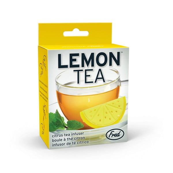 Žlté sitko na čaj Fred & Friends Lemon Tea