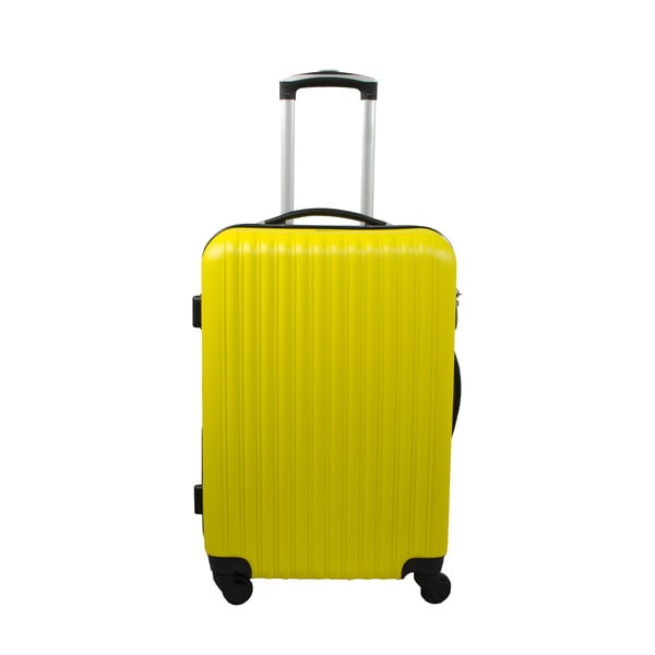 Sada 3 kufrov Roues Cadenas Neon Yellow, 105 l/72 l/40 l