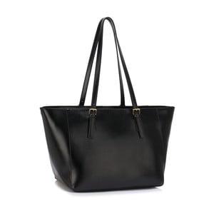 Čierna kabelka L & S Bags Dorna