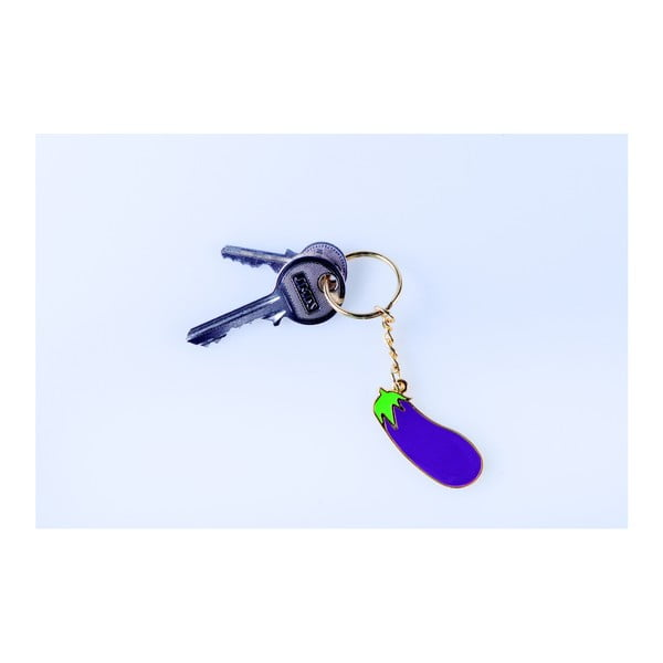 Prívesok na kľúče DOIY Eggplant