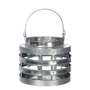 Lampáš Hurricane Silver, 13 cm