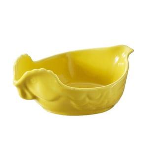 Zapekacia miska v tvare sliepky Happy Cuisine 0,2 l, žltá