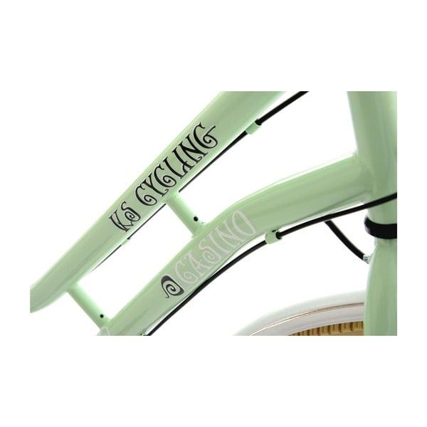 """Bicykel City Bike Casino Green, 28"""", výška rámu 53 cm"""