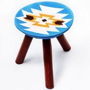 Ručne maľovaná stolička Viscri, 28 cm
