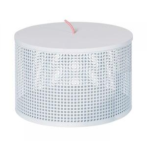 Biely úložný box OK Design Boite, Ø30 cm