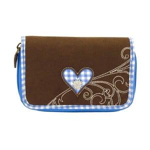 Dámska peňaženka Bavaria Fitted Brown/Blue