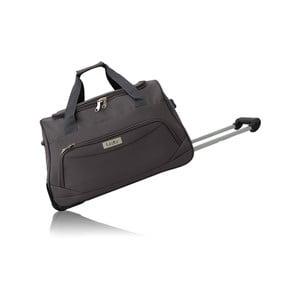 Sivá cestovná taška na kolieskach Les P'tites Bombes Goteborg, 91l