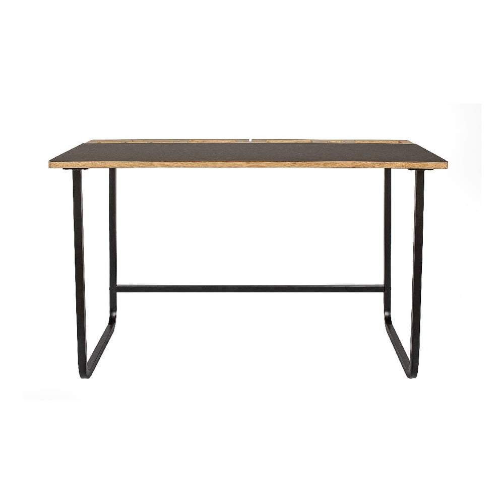 Pracovný stôl s doskou z dubového dreva Askala Jakala