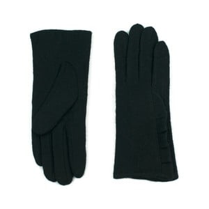 Čierne rukavice Jeanne