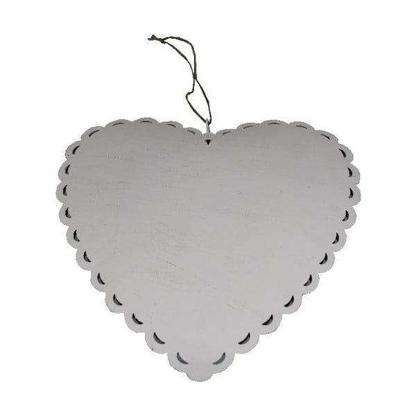 Dekoratívne srdce Romantic Heart, 19 cm