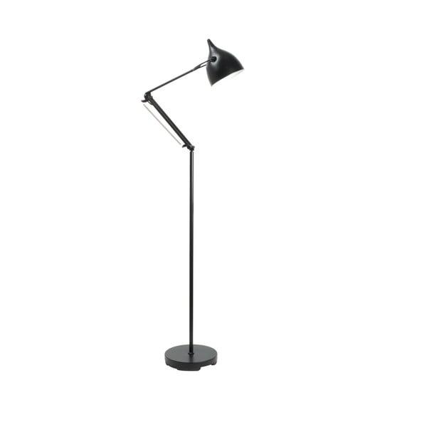 Čierna stojacia lampa Zuiver Reader