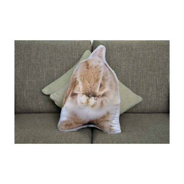 Vankúšik Adorable Cushions Hnedý králik