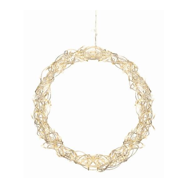 Svietiaca dekorácia  Curly Wreath, 45 cm