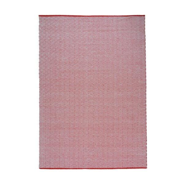 Koberec Calvino White/Red, 160x230 cm