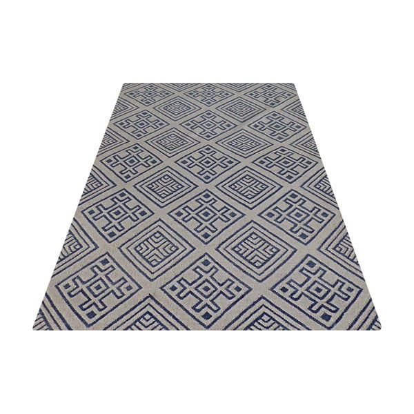 Ručne tkaný koberec Kilim D no.769, 155x240 cm