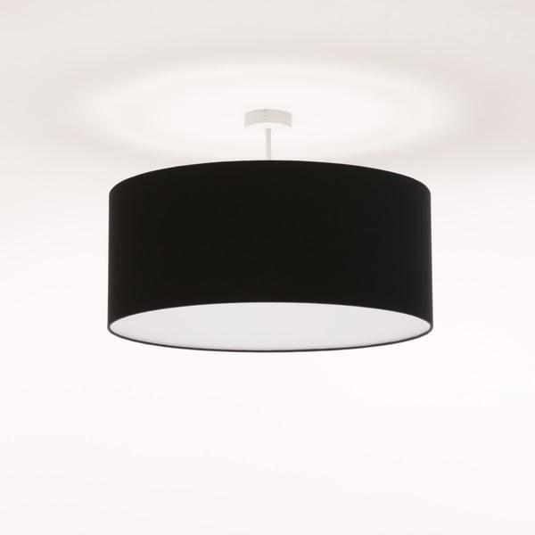 Čierne stropné svetlo 4room Artist, Ø 60 cm