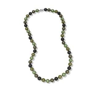 Zelený náhrdelník Mara de Vida Perldor, dĺžka 60cm