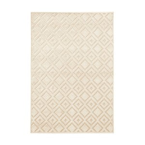 Krémový koberec Mint Rugs Shine, 120 × 170 cm