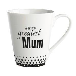 Porcelánový hrnček KJ Collection World's greatest mum, 300ml