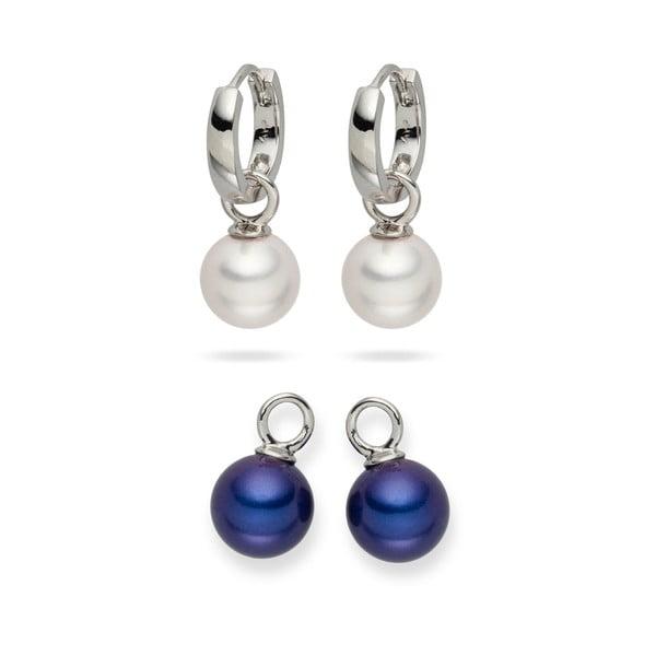 Sada 2 perlových náušníc Nova Pearls Copenhagen Catherin