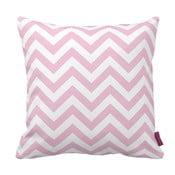 Ružovo-biely vankúš Homemania Zig Zag Pink, 43×43cm