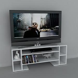 Stolík na televízor Romio White, 29,5x120x45,6 cm