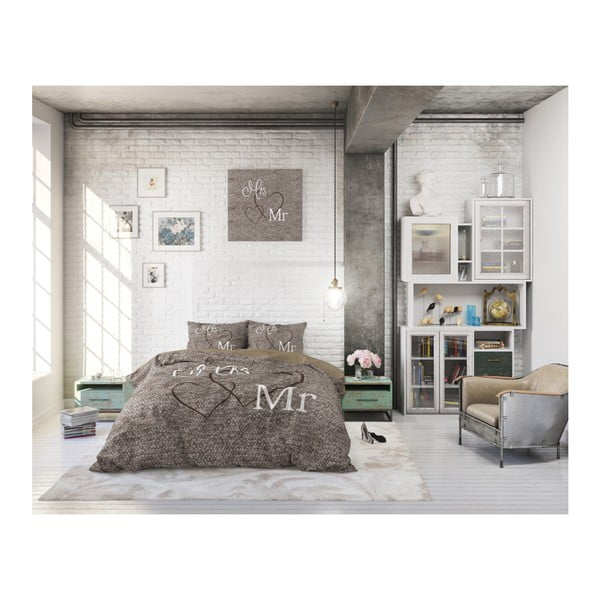 Bavlnené obliečky na jednolôžko Sleeptime Misses, 140×220 cm