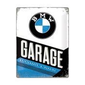Plechová ceduľa BMW Garage, 30x40 cm