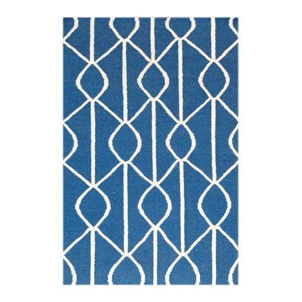 Vlnený koberec Kilim no. 186, 90x150 cm