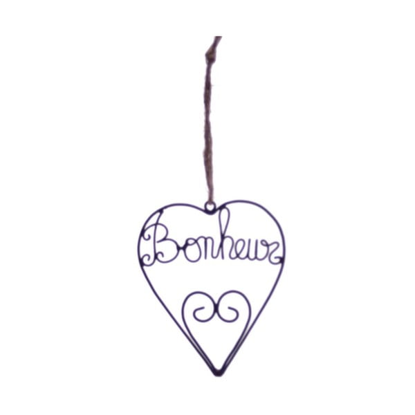 Závesná dekorácia Antic Line Bonheur