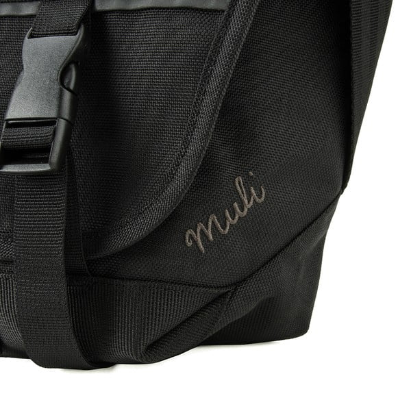 Taška cez rameno Muli Messenger M, čierna