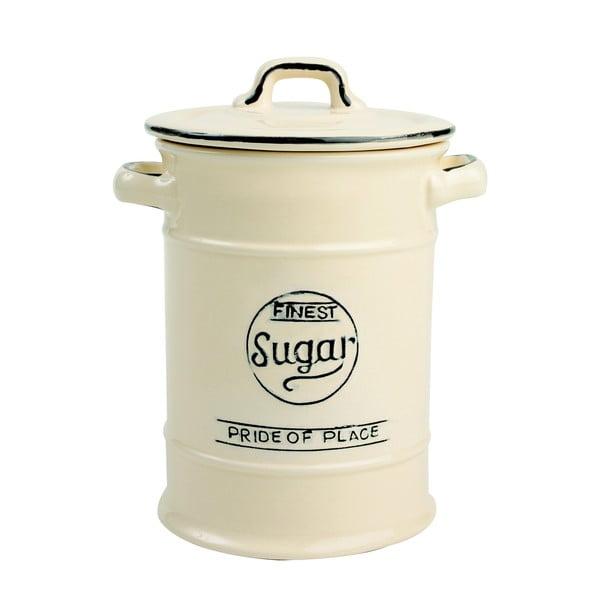 Krémová porcelánová dóza na cukor T&G Woodware Pride of Place