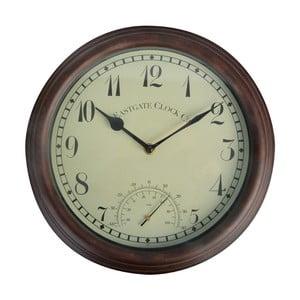 Nástenné hodiny do exteriéru Esschert Design