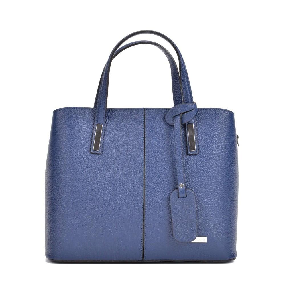 Modrá kožená kabelka Sofia Cardoni Marcella