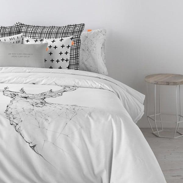 Bavlnená obliečka na paplón Blanc Hill, 200×200cm