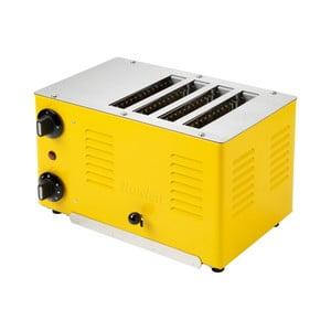 Dizajnový toaster Rowlett Rutlands Four, Traffic Yellow