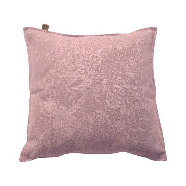 Ružový vankúš OVERSEAS Vintage, 45x45cm