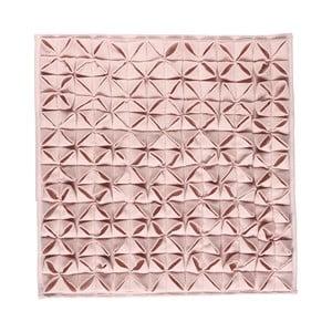 Kúpeľňová predložka Origami 60x60 cm, růžová
