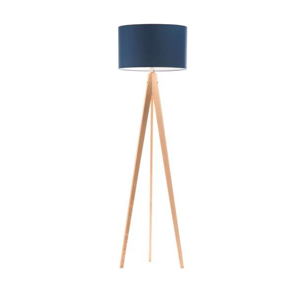 Stojacia lampa Artist Dark Blue/Birch, 150x42 cm