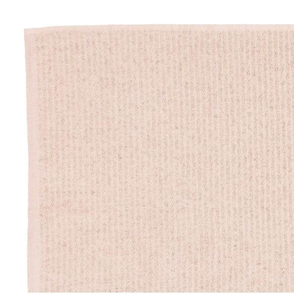Sada 2 béžových froté uterákov Casa Di Bassi Stripe, 50x90cm