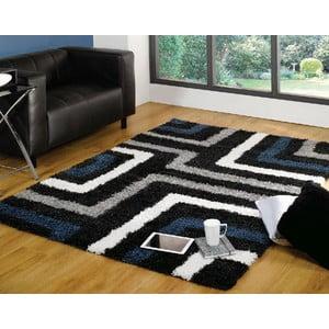 Modro-sivý koberec Flair Rugs Tides Blue/Grey, 120 x 170 cm