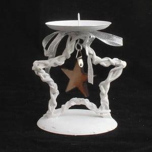 Svietnik s bielou hviezdou Dakls