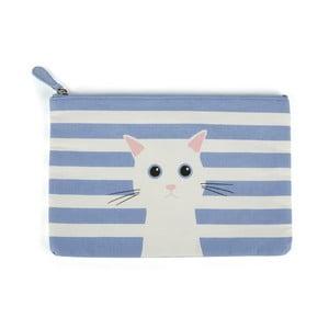 Plochá taštička Blue Cotton Cat