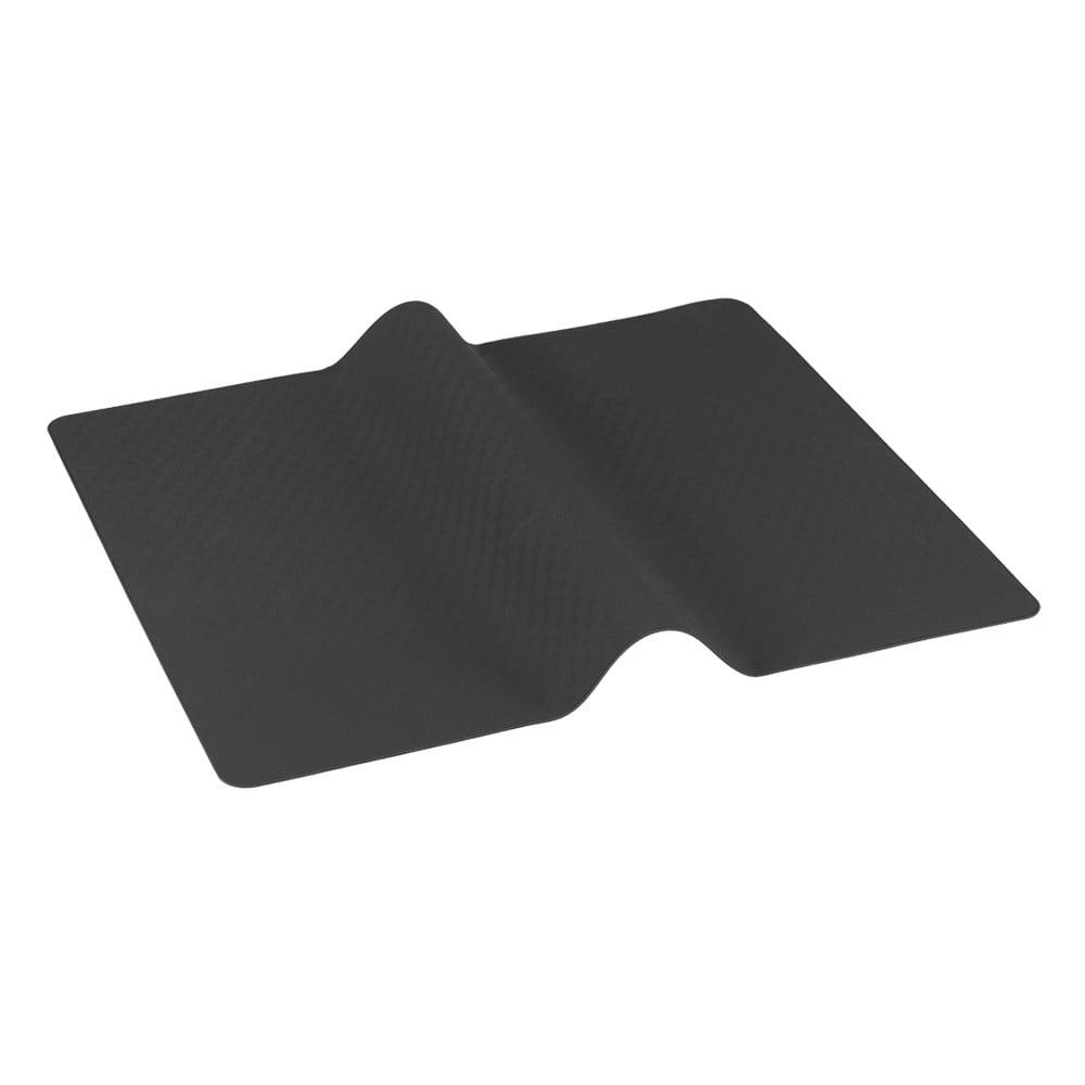 Tmavosivá multifunkčné krájanie a podložka na pečenie Metaltex Brown, 38 x 30 cm