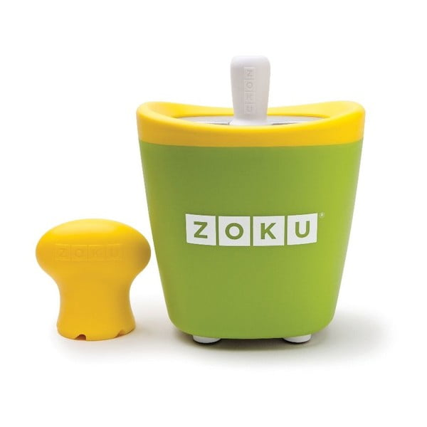Zelený zmrzlinovač Zoku Single