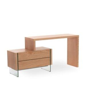 Pracovný stôl z dubového dreva Ángel Cerdá Retro