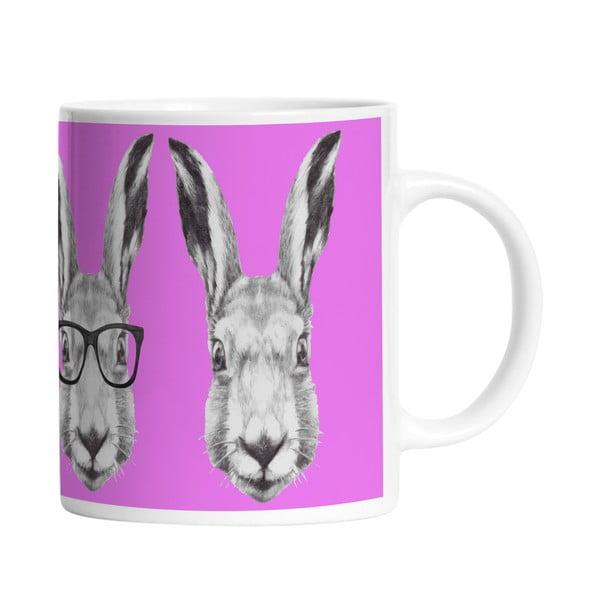 Keramický hrnček Cool Bunny, 330 ml